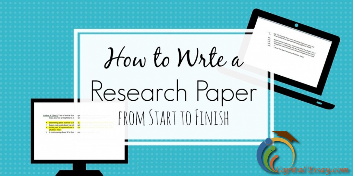 6 steps writing research paper