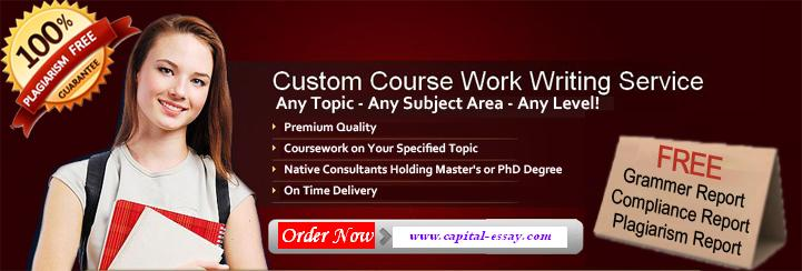 Best Coursework Paper Writing Services | Capital Essay